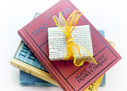 Books as gift wrap